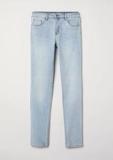 H&M H & M - Pants Skinny fit - Blue
