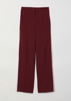H&M H & M - Pants with Creases - Red