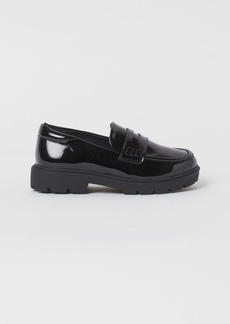 H&M H & M - Patent Loafers - Black