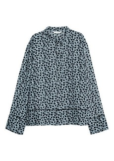 H&M H & M - Patterned Blouse - Blue