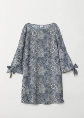 H&M H & M - Patterned Dress - Blue