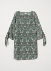 H&M H & M - Patterned Dress - Green