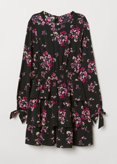 H&M H & M - Patterned Dress - Pink