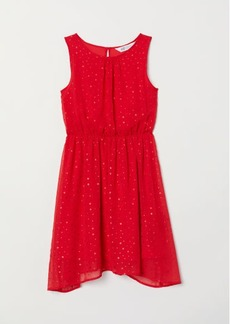 H&M H & M - Patterned Dress - Red