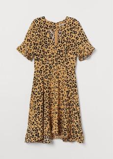H&M H & M - Patterned Dress - Yellow