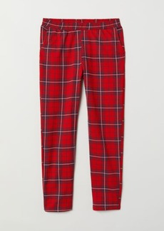 H&M H & M - Patterned Joggers - Red