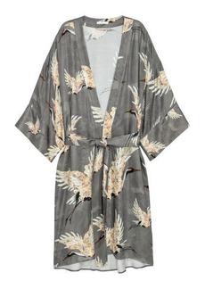 H&M H & M - Patterned Kimono - Gray