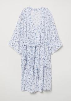 H&M H & M - Patterned Kimono - White