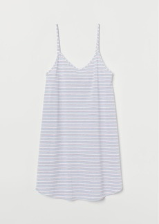 H&M H & M - Patterned Nightgown - Blue