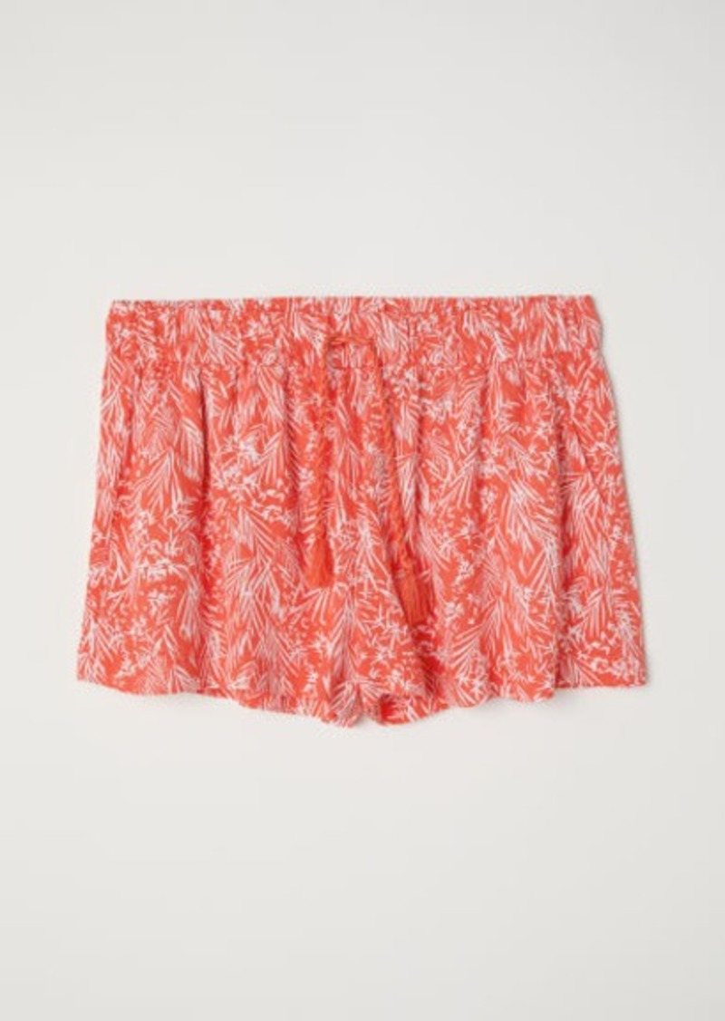 H&M H & M - Patterned Shorts - Red