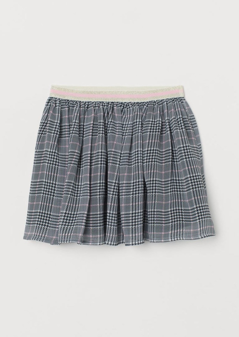 H&M H & M - Patterned Skirt - White