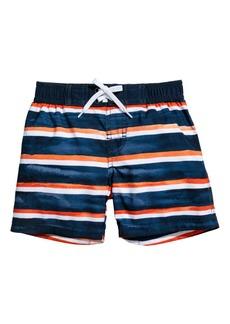 H&M H & M - Patterned Swim Shorts - Orange
