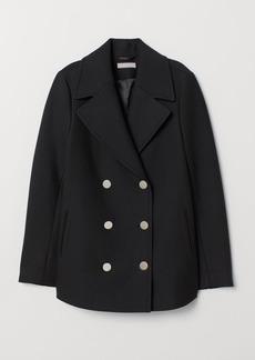 H&M H & M - Pea Coat - Black