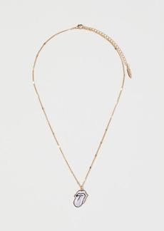 H&M H & M - Pendant Necklace - Purple