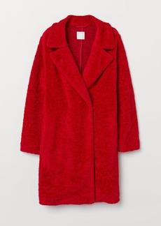 H&M H & M - Pile Coat - Red