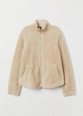 H&M H & M - Pile Jacket - Beige