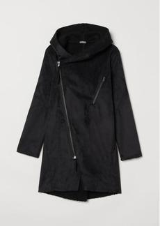 H&M H & M - Pile-lined Jacket - Black