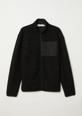 H&M H & M - Pile Shirt - Black