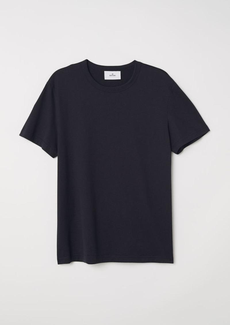 H&M H & M - Pima Cotton T-shirt - Black