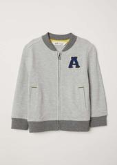 H&M H & M - Piqué Jacket - Light gray - Kids