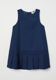 H&M H & M - Pleated Dress - Blue