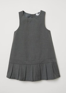 H&M H & M - Pleated Dress - Gray