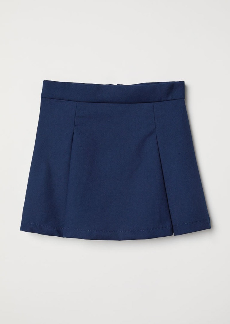 H&M H & M - Pleated Skirt - Blue