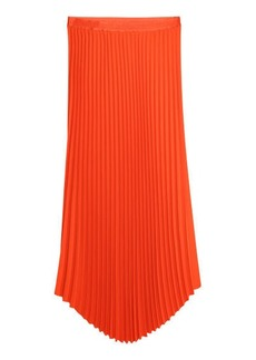 H&M H & M - Pleated Skirt - Orange