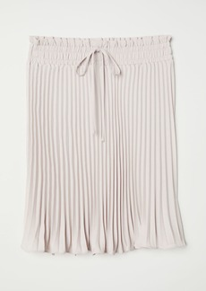 H&M H & M - Pleated Skirt - Pink