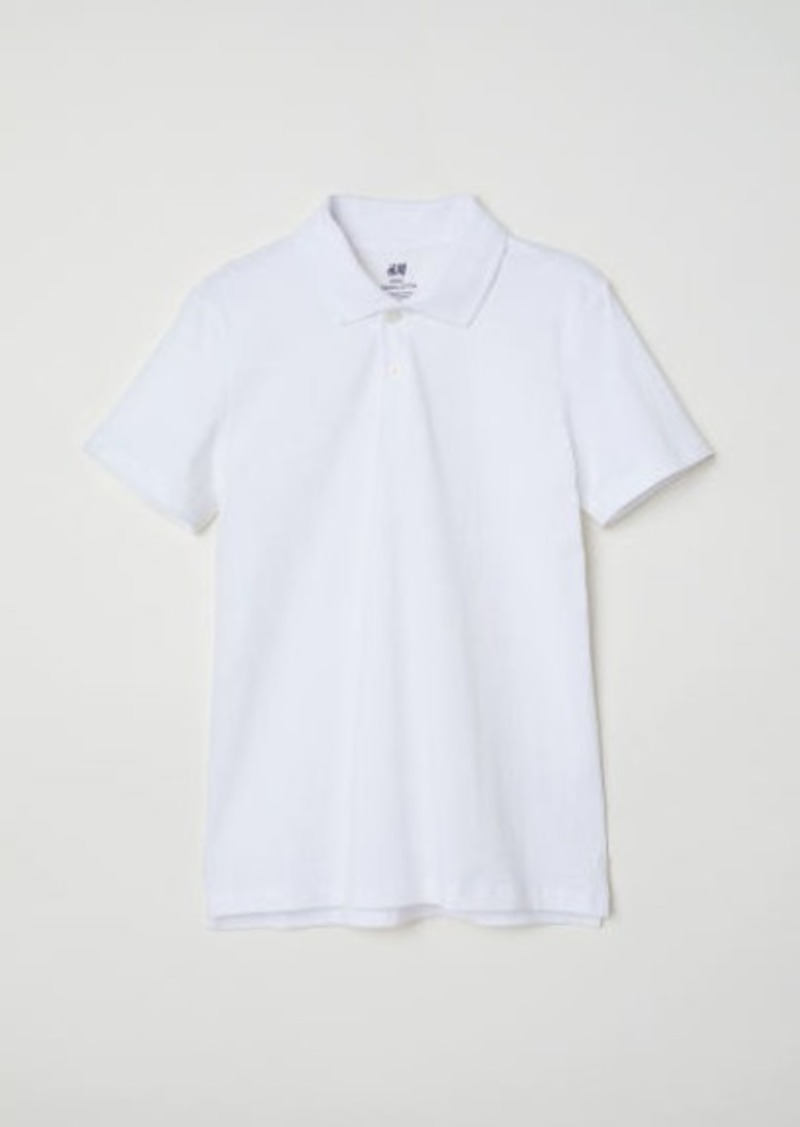 H&M H & M - Polo Shirt - White