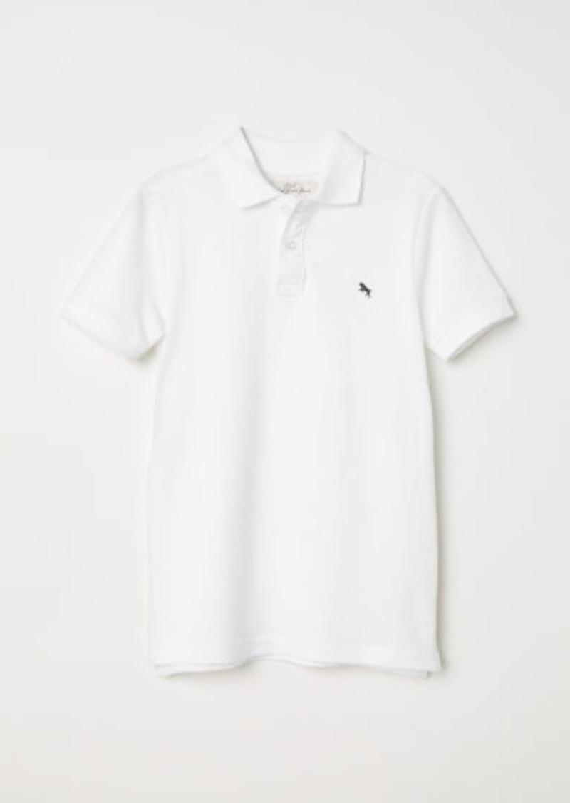 H&M H & M - Polo Shirt - White