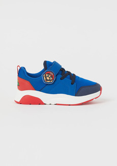 H&M H & M - Printed Sneakers - Blue