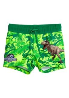 H&M H & M - Printed Swim Trunks - Green