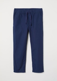 H&M H & M - Pull-on Cotton Pants - Blue