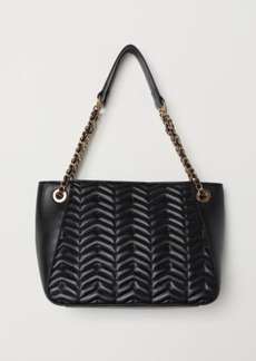 H&M H & M - Quilted Handbag - Black