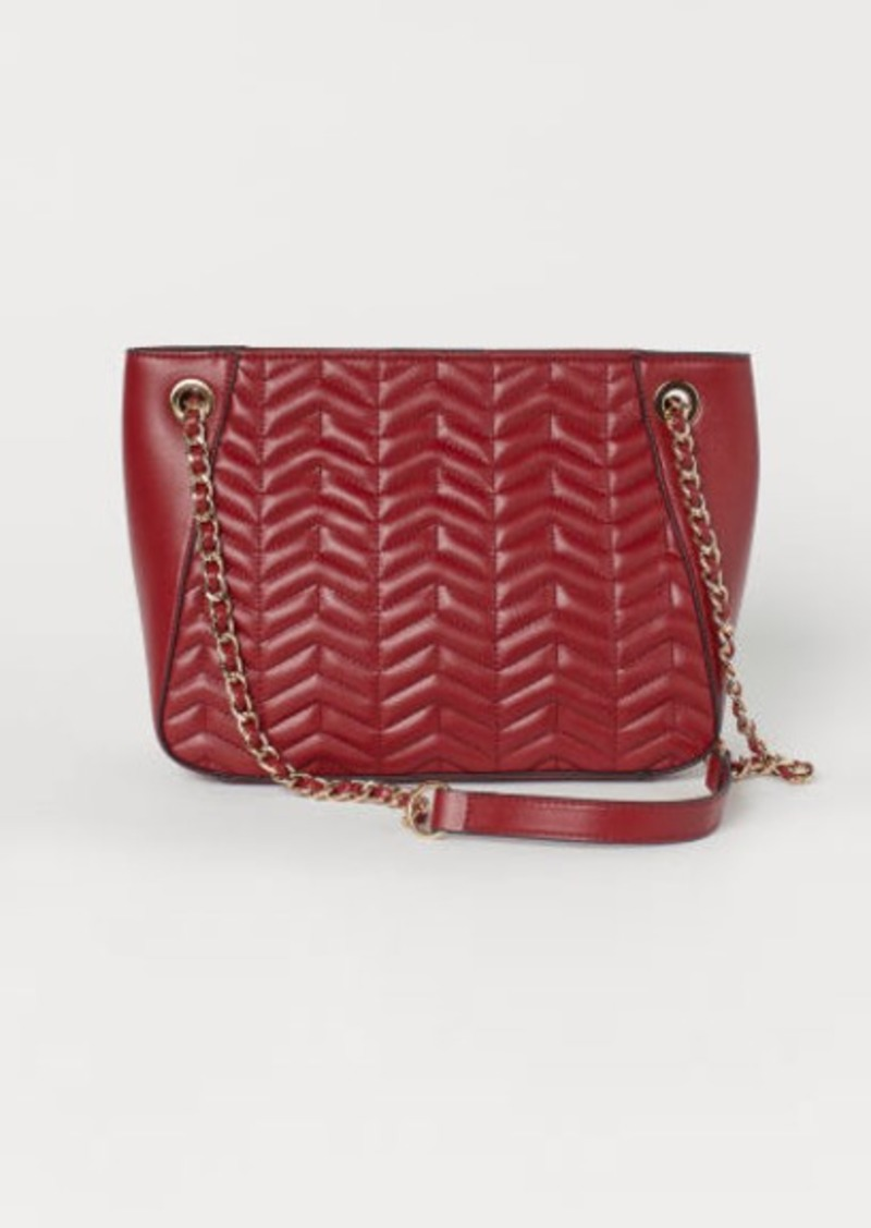 H&M H & M - Quilted Handbag - Red