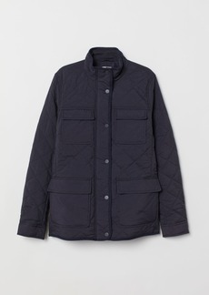 H&M H & M - Quilted Jacket - Blue
