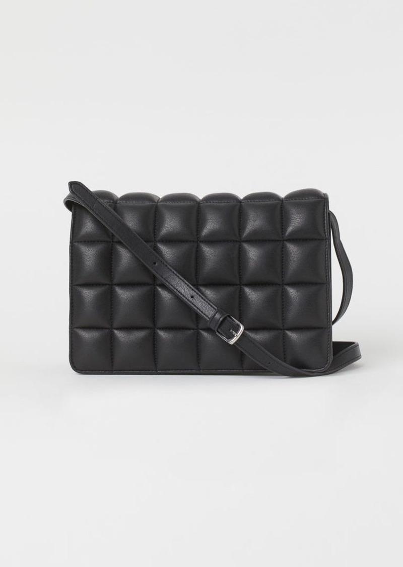 H & M - Quilted Shoulder Bag - Black
