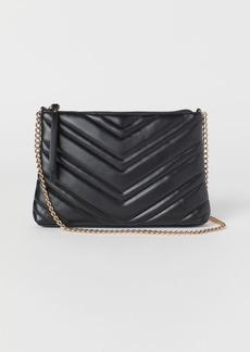 H&M H & M - Quilted Shoulder Bag - Black