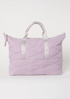 H&M H & M - Quilted Weekend Bag - Pink