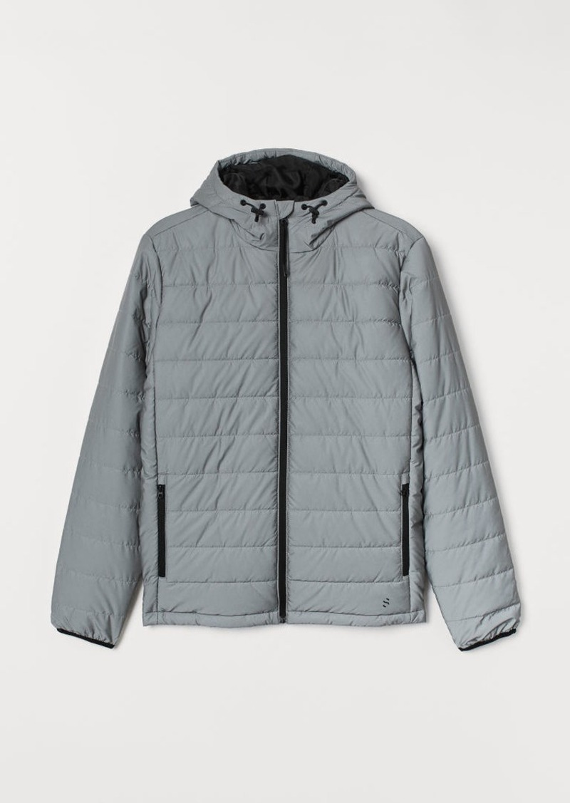 H&M H & M - Reflective Jacket - Gray
