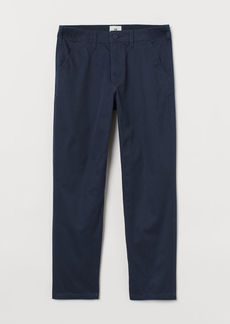 H&M H & M - Regular Fit Chinos - Blue