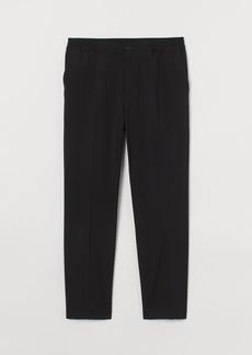 H&M H & M - Regular Fit Dressy Joggers - Black