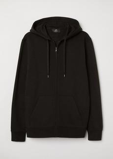 H&M H & M - Regular Fit Hooded Jacket - Black