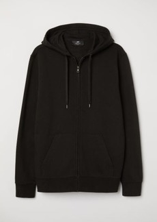 H&M H & M - Regular Fit Hooded Jacket - Black