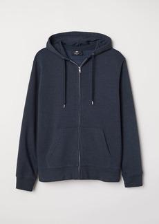 H&M H & M - Regular Fit Hooded Jacket - Blue