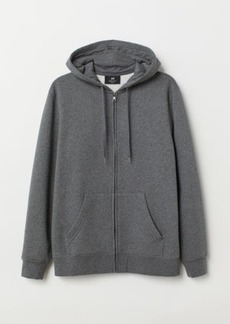 H&M H & M - Regular Fit Hooded Jacket - Gray