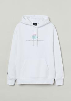 H&M H & M - Regular Fit Hoodie - White