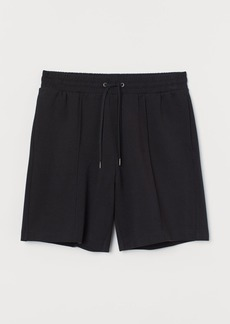 H&M H & M - Regular Fit Jersey Shorts - Black