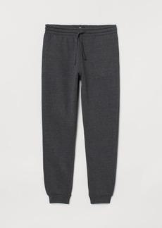 H&M H & M - Regular Fit Sweatpants - Black